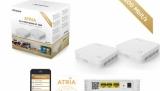 Levný Strong Atria Wi-Fi Mesh Home Kit 1200 a Strong Atria Mesh Extender 1200