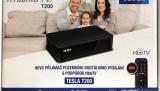 DVB-T2 set-top box Tesla HYbbRID TV T200 (test): robustní a s funkčním HbbTV, ale bez multimédií
